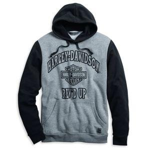 HARLEY-DAVIDSON Rev'd Up Pullover Hoodie